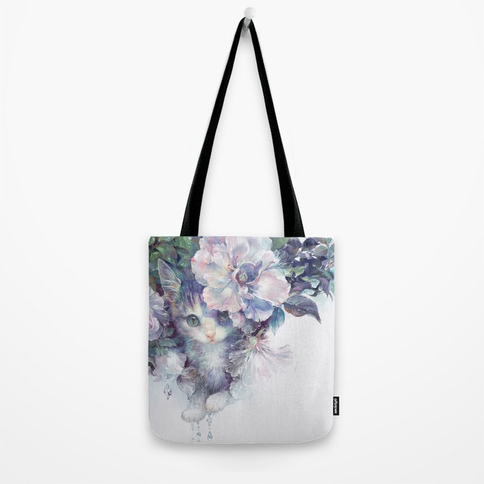 secret behind flowers Tote Bag