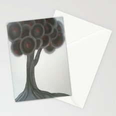 Krishnachura tree Stationery Cards