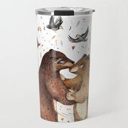 Bear Dance Travel Mug