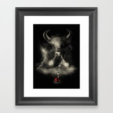 Matador's Match Framed Art Print