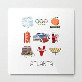 Atlanta Georgia Metal Print