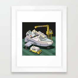 """air""1 Framed Art Print"