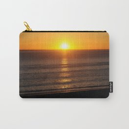 Sunset in Santa Monica with Location Carry-All Pouch