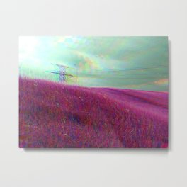 Mapping Minds Metal Print