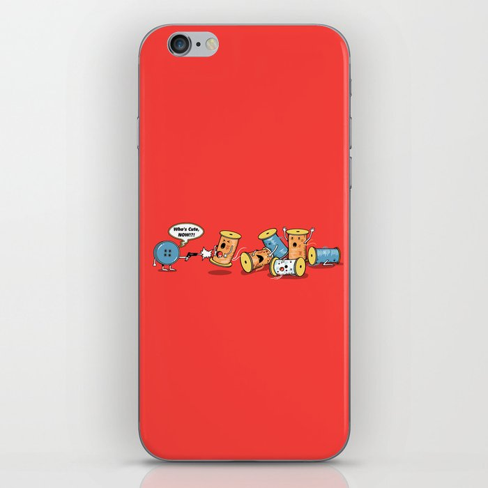 Who's Cute Now!? iPhone Skin