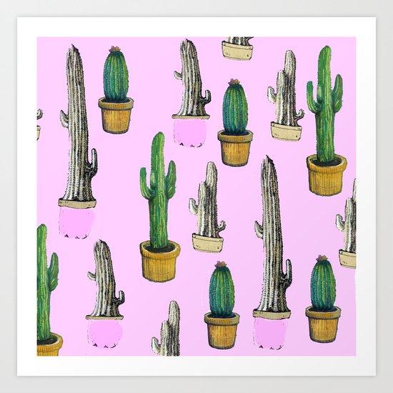 cactus 6.0 Art Print