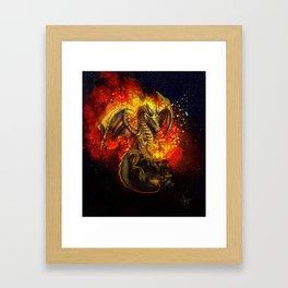 The bringer of light Framed Art Print