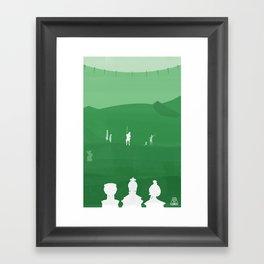 Avatar - Earth Book Framed Art Print