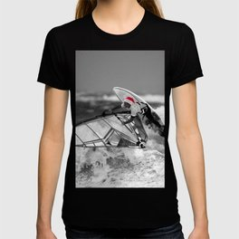 surf santa - wind surf T-shirt