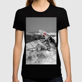surf santa - wind surf T-shirt