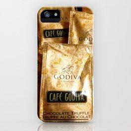 Godiva Chocolate Coffee Lovers iPhone Case