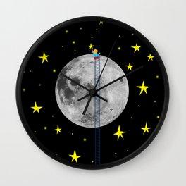Seeding stars Wall Clock