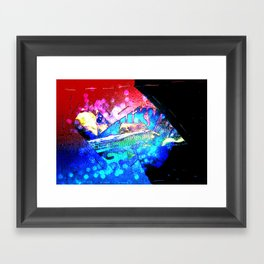 ice candy Framed Art Print