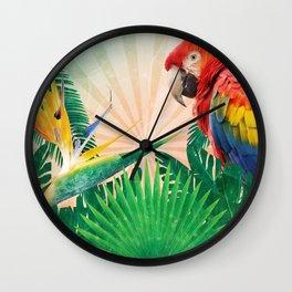 Tropics Wall Clock