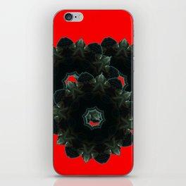 Black Upton iPhone Skin
