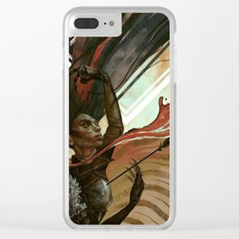 Warden Clear iPhone Case