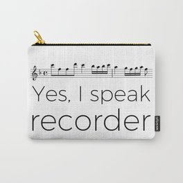 I speak recorder Carry-All Pouch