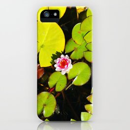 Dreaming Lotus iPhone Case