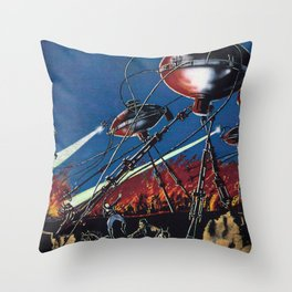 War of the Worlds 1 Throw Pillow
