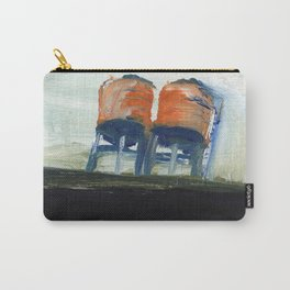 NYC Water Towers Painted on subway fare card Carry-All Pouch
