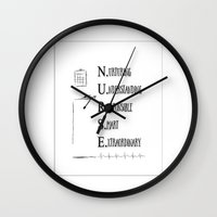 nurse Wall Clocks featuring Nurse Description by Ginkelmier