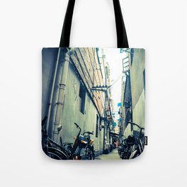 The Old Streets of China Tote Bag