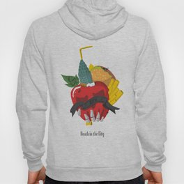 Death in the city Hoody