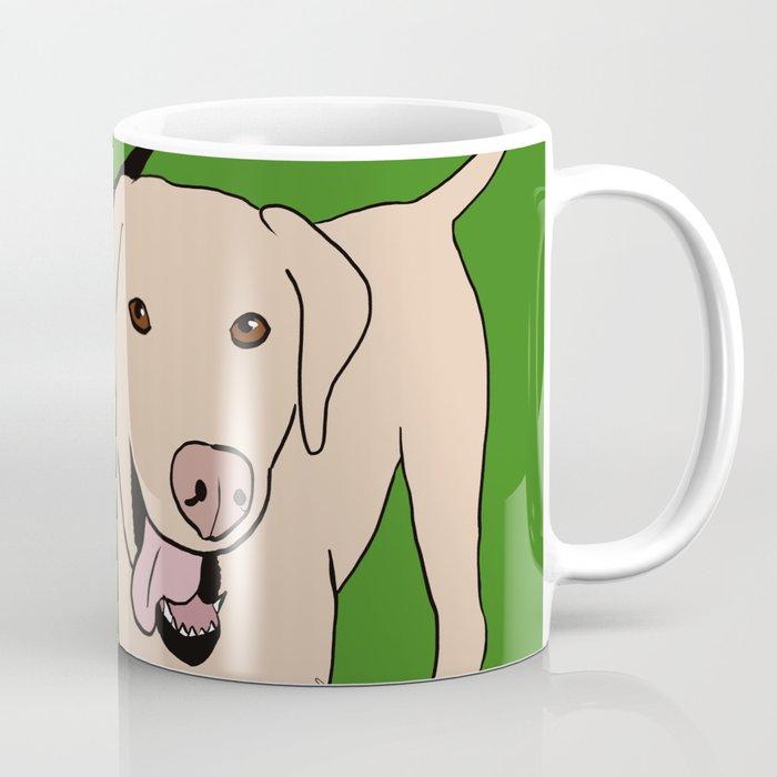Tanner and Lily Best Labrador Buddies Coffee Mug