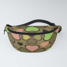 Hearts Flower Creation 9 Fanny Pack
