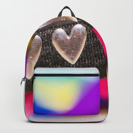 Silver Hearts Backpack