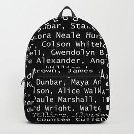 African American Literary Rebels Backpack