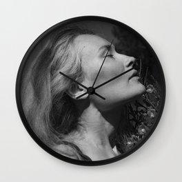 Girl dreams Wall Clock
