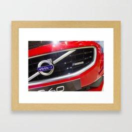 Volvo S60 T6 R-Design Logo Framed Art Print