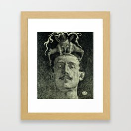 Criticism Framed Art Print