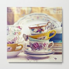 Tea Party Metal Print