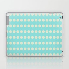 Circular Cyan Pattern Laptop & iPad Skin