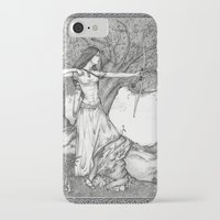archer iPhone & iPod Cases featuring Archer by Laura-A