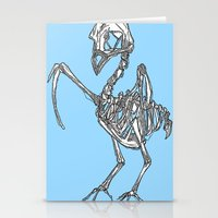 pigeon Stationery Cards featuring Pigeon by Doe.
