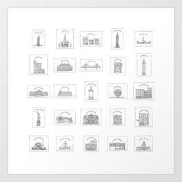 #25DaysofNYC Art Print