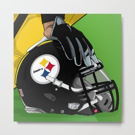 Pittsburgh football Metal Print