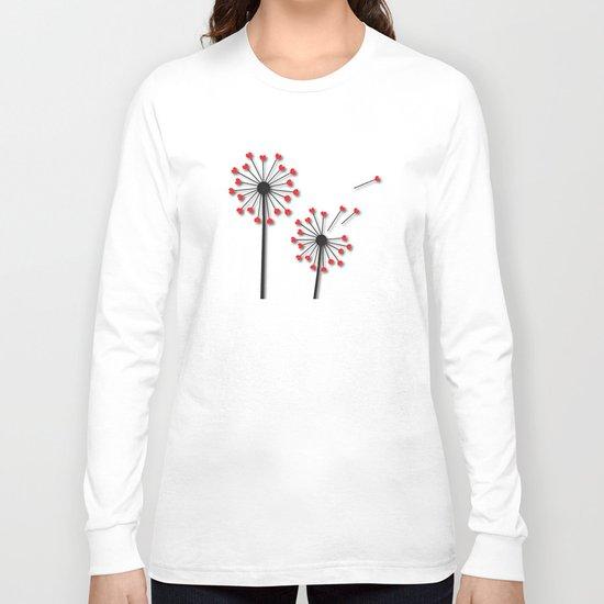 Dandelion Hearts Long Sleeve T-shirt
