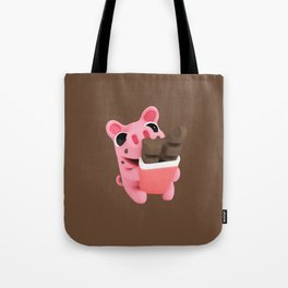 Rosa share chocolate brown Tote Bag