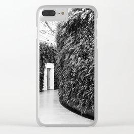 Fern Wall Clear iPhone Case