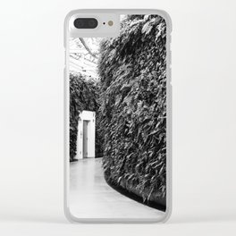 Fern Wall Clear iPhone Case