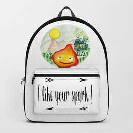 Howl's Moving Castle - Calcifer Backpack