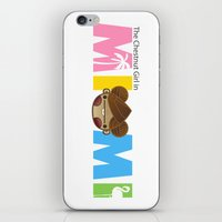 miami iPhone & iPod Skins featuring Miami by Ed Warner