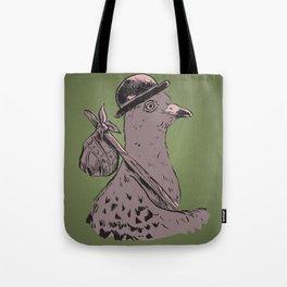 Hobo Pigeon Tote Bag