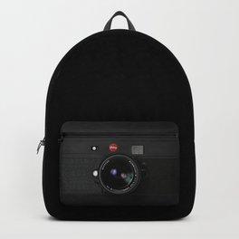 Vintage Black Camera Backpack