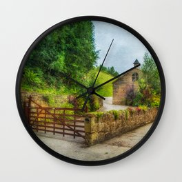 Country Stables Wall Clock