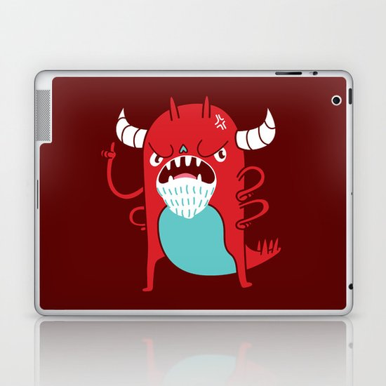Monster Nagging Laptop & iPad Skin